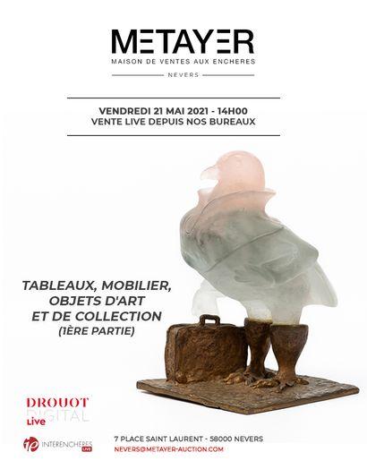 TABLEAUX, MOBILIER, OBJETS D'ART ET DE COLLECTION (1ÈRE PARTIE)