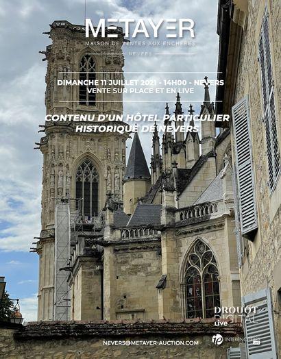 CONTENU D'UN HÔTEL PARTICULIER HISTORIQUE DE NEVERS