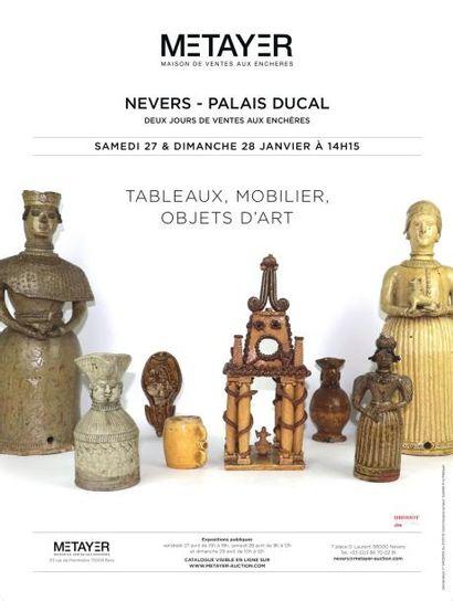 Grès de la Borne, tableaux, mobilier et objets d'art