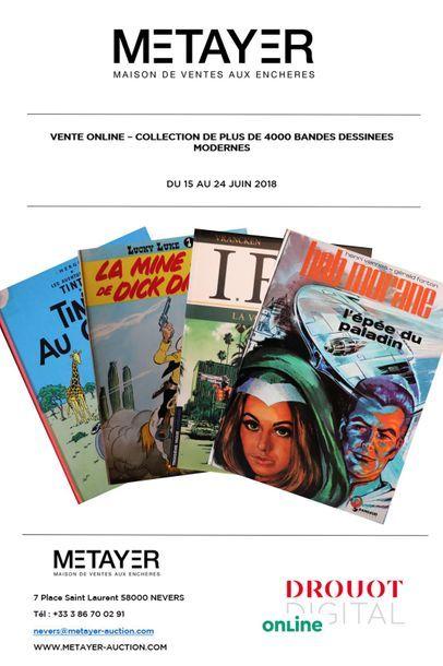 Collection de plus de 4000 bandes dessinées modernes