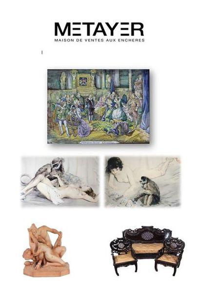 Céramiques, arts d'Asie, mobilier et objets d'art
