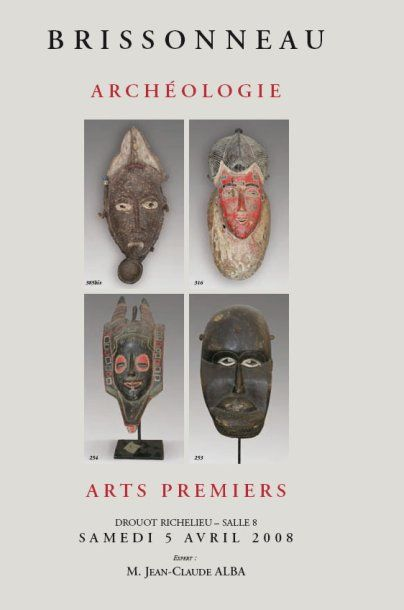 ARCHEOLOGIE-ARTS PREMIERS