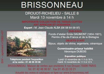 Objets de vitrine - Tissus coptes - Atelier Emile Daumont (1834_1921)