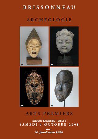 Archéologie, Arts Premiers