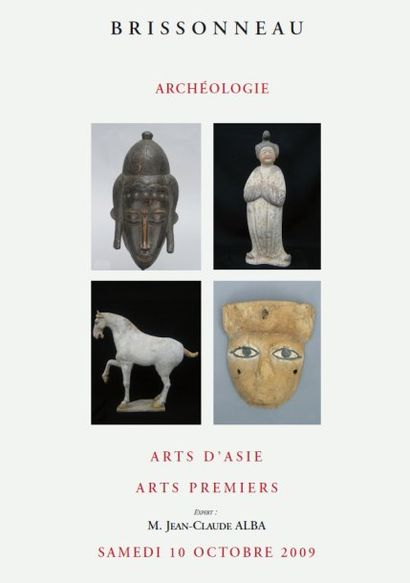 ARCHEOLOGIE MEDITERRANEENNE - ARTS DE L'ASIE - ARTS PREMIERS