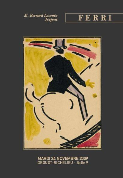 JEAN-ÉMILE LABOUREUR (1877 – 1943), ESTAMPES par : BONNARD, LAUTREC, RENOIR, VILLON