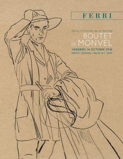 Dans l'intimité de la famille Boutet de Monvel