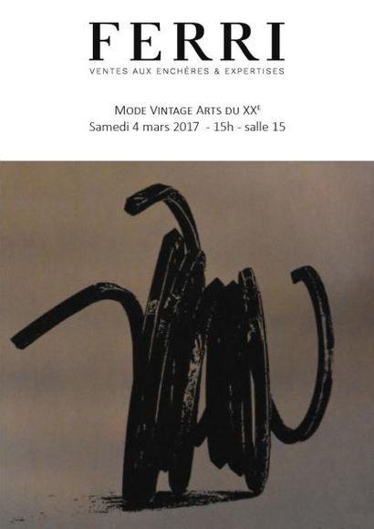 MODE - VINTAGE - ARTS DU XXe MON SAMEDI A DROUOT