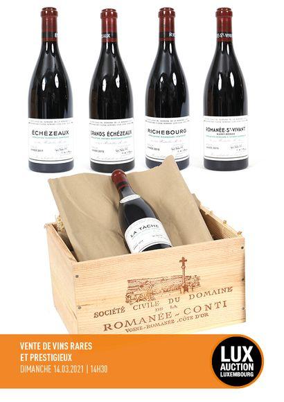 Rare and Prestigious Wines