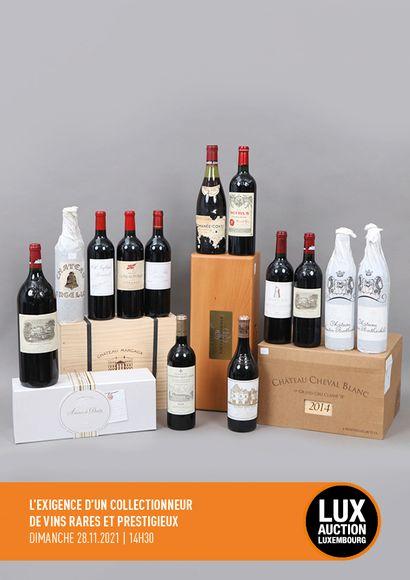 L'exigence d'un collectionneur de vins rares et prestigieux