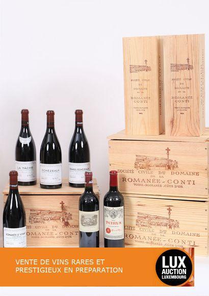 Vente de vins rares et prestigieux