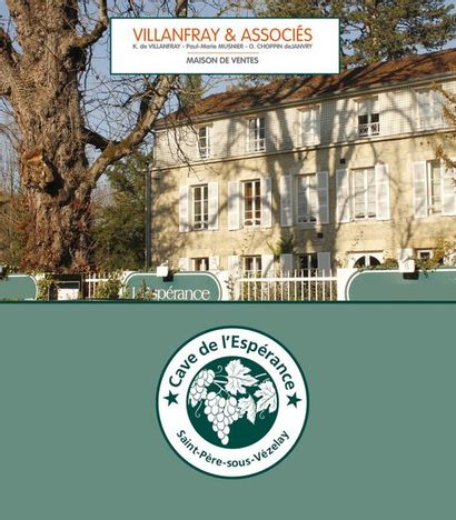 GREAT WINES: THE CELLAR OF L'ESPÉRANCE restaurant and hotel, Burgundy, Saint Père-sous-Vézelay