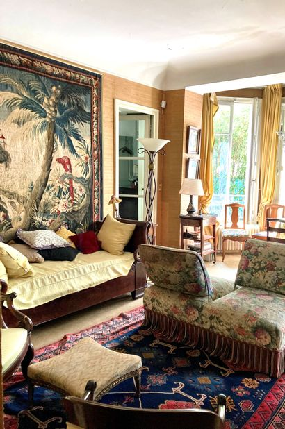Discreet charm of a Parisian apartment and a private mansion in Compiègne - Grande Décoration