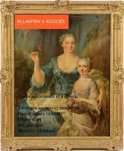 bijoux, tableaux anciens et modernes, mobilier et objets d'art XVIII et XIXème