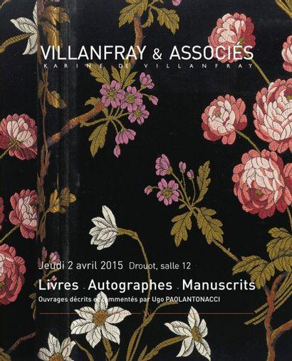 LIVRES, AUTOGRAPHES & MANUSCRITS ANCIENS