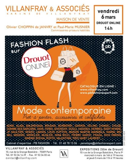 Mode contemporaine - Vêtements, accessoires et souliers