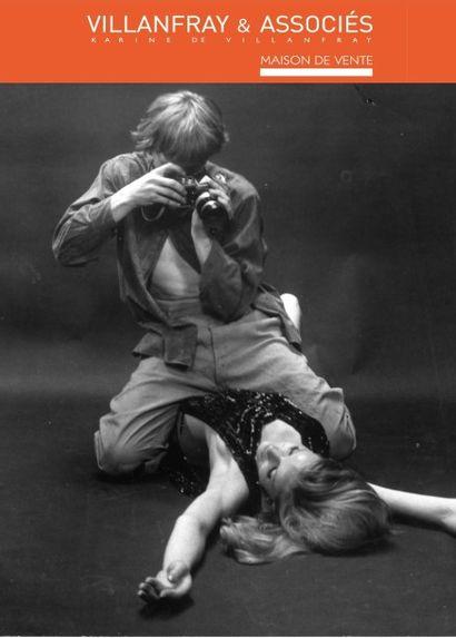 40 ans de cinéma, une collection : photographies originales de plateau et de presse sur le cinéma français et américain