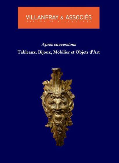 VENTE CLASSIQUE : TABLEAUX ANCIENS, MODERNES et CONTEMPORAINS, ARGENTERIE, ARMES, Art ASIATIQUE, OBJETS d'ART, MOBILIER, TAPIS