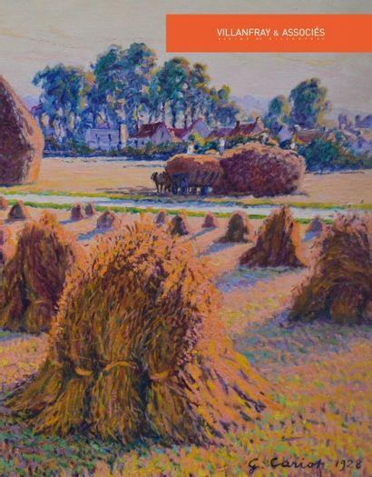 Gustave CARIOT (1872-1950), 16 œuvres de 1892 à 1934
