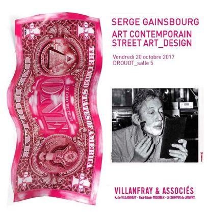 SERGE GAINSBOURG_ART CONTEMPORAIN_STREET ART_DESIGN_