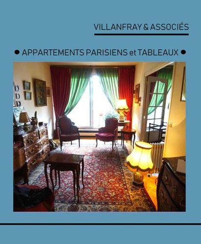 ENTIER CONTENU DE DEUX APPARTEMENTS PARISIENS et TABLEAUX MODERNES ET CONTEMPORAINS