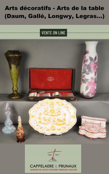 Arts décoratifs - Arts de la table