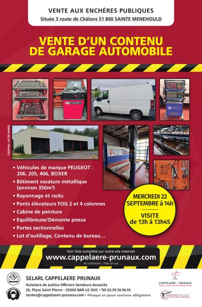 Vente Garage Automobile