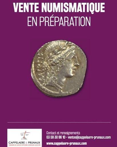 VENTE NUMISMATIQUE (pièces d'or et de collections) ET MULTICOLLECTIONS (minéraux et fossiles, timbres, jouets, livres...) : en préparation