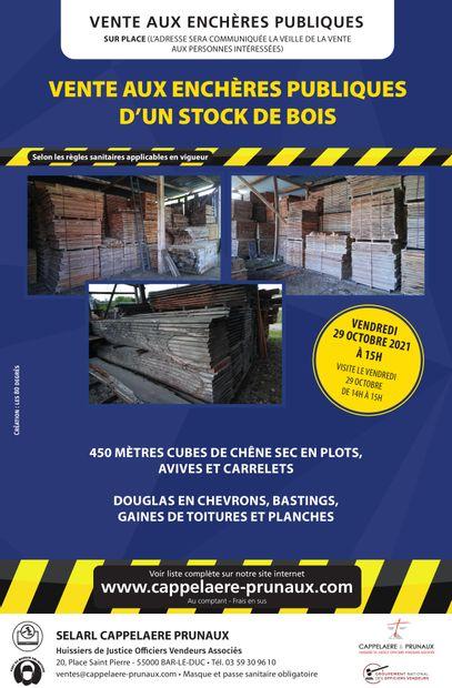 Vente de Bois 29/10/2021 / Route du canal - 52170 CHEVILLON ( la scierie )
