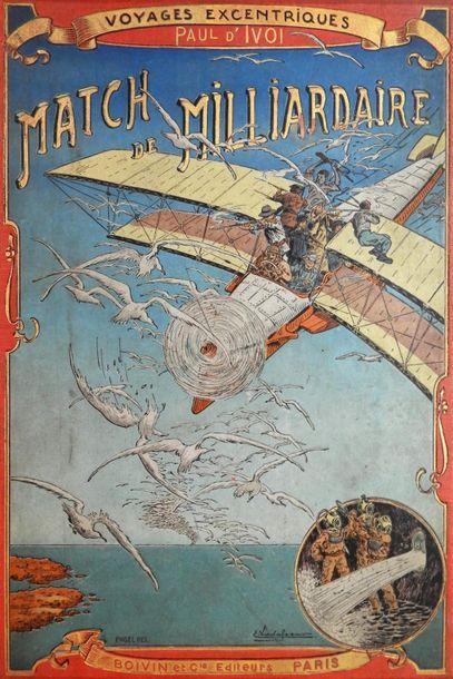 Vente Cartonnages Illustrés, Jules Verne (Hetzel), Paul d'Ivoi (ex-Furne), Tableaux, Estampes, Mobilier et Objets d'art