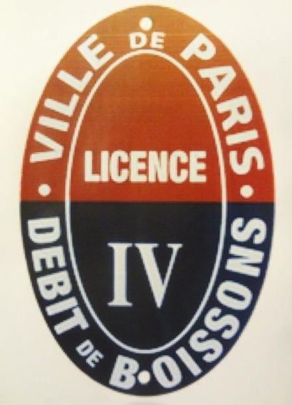 LICENCE IV PARIS - DEBIT DE BOISSON