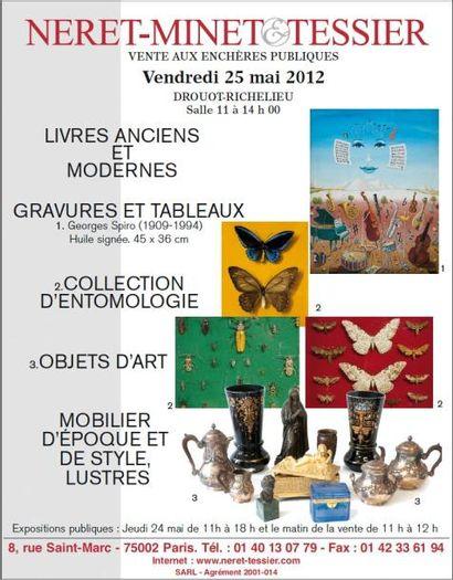 Collection entomologique de M.Delmas