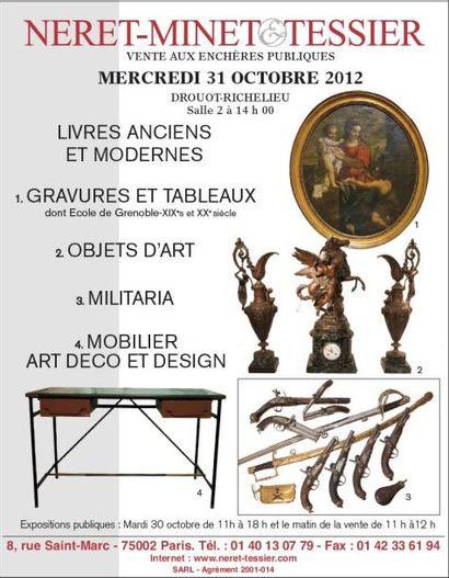 Meubles et objets d'art...