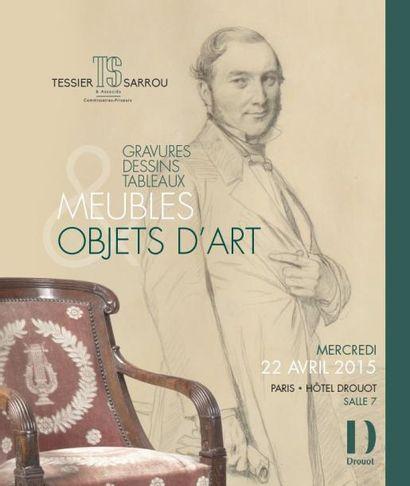 GRAVURES - DESSIN - TABLEAUX  MEUBLES ET OBJETS D ART