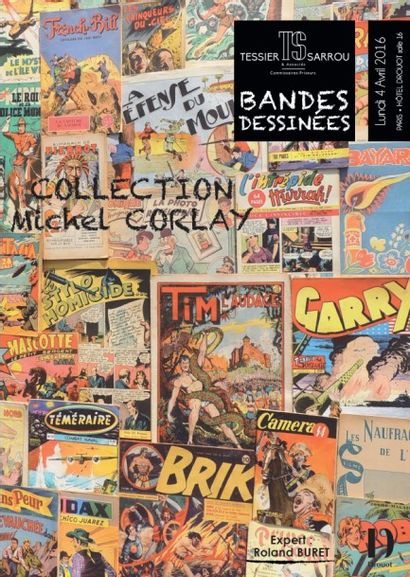 BANDES DESSINEES - COLLECTION Michel CORLAY