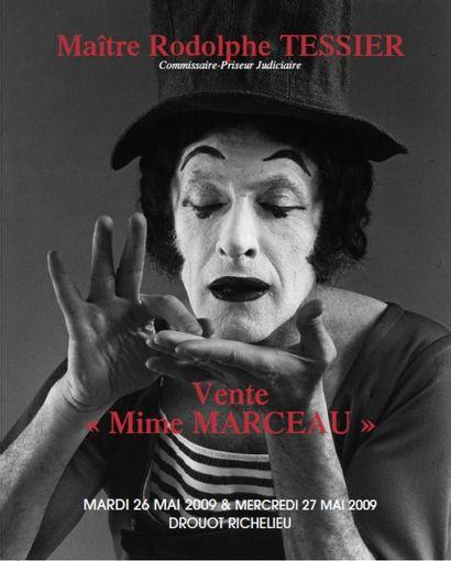LE MIME MARCEAU (1923-2007) : LA VIE D'UN MYTHE FRANCAIS AUX ENCHERES ACTE I - LOT 1 à 500