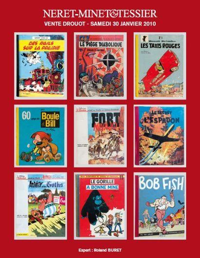 Bandes dessinées - Planches et éditions originales