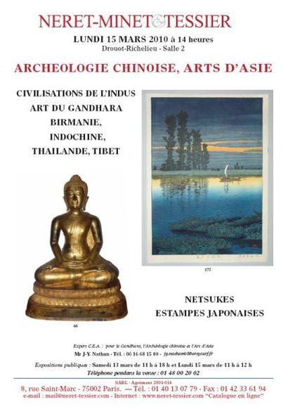 Archeologie Chinoise - Art d'Asie - Estampes Japonaises