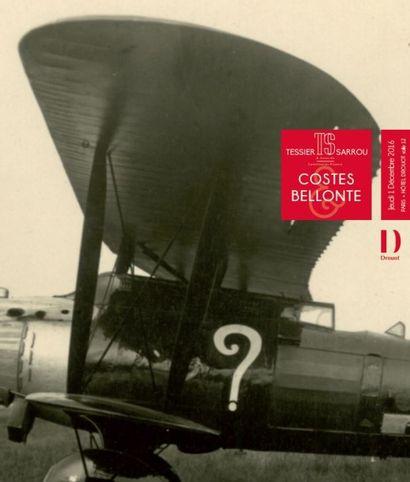 Costes & Bellonte :  archives et manuscrits, ordres de chevalerie et médailles, instruments de marine, souvenirs historiques, collection de 102 jouets