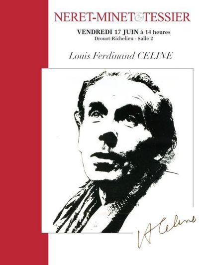"""VENTE """"LOUIS FERDINAND CÉLINE"""""""