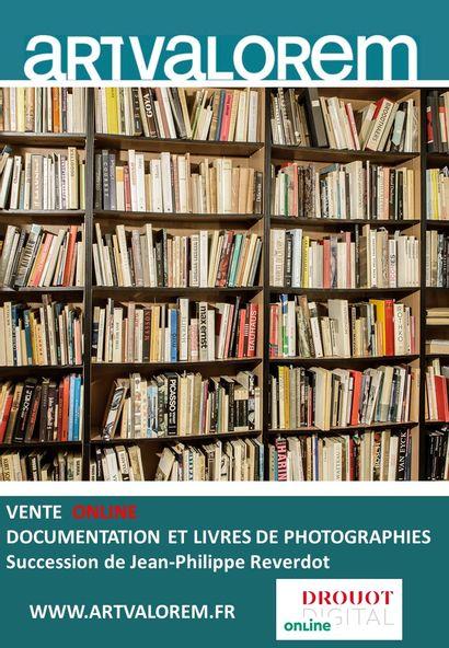 DOCUMENTATION ET LIVRES DE PHOTOGRAPHIES SUCCESSION J.P REVERDOT