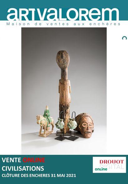 CIVILISATIONS : ARTS D'ASIE - AFRIQUE - ARCHEOLOGIE