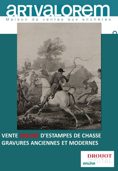 VENTE D'ESTAMPES DE CHASSE GRAVURES ANCIENNES ET MODERNES