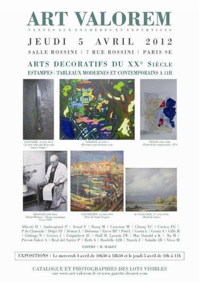 Dessins, Photos et Tableaux - Vente 11h00 et 14h00