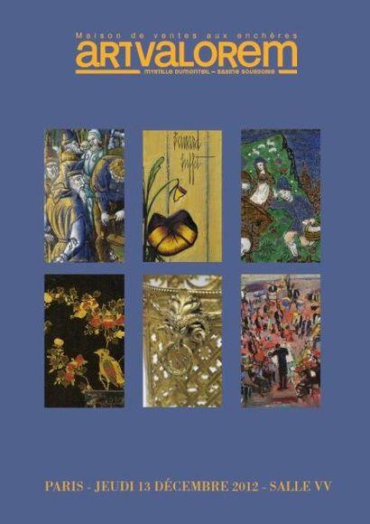Dessins, tableaux du XVIe au XXe, bijoux, argenterie, émaux, céramique, verrerie, mobiliers