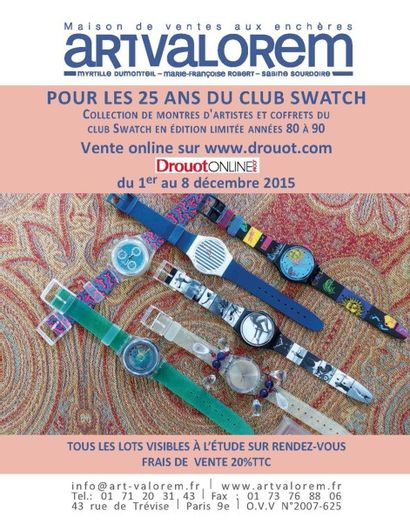 SWATCH ON LINE