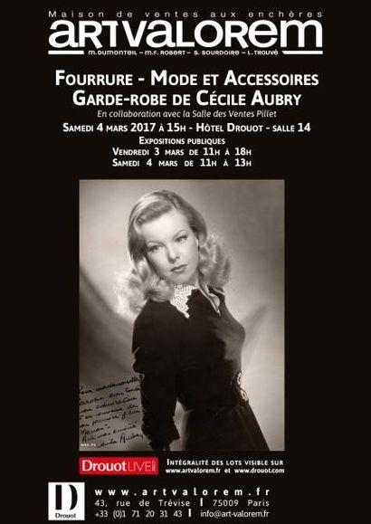 Fourrure - Mode et Accessoires - Garde-robe de Cécile Aubry