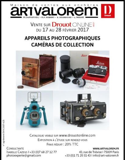 Appareils photographiques Caméras de collection