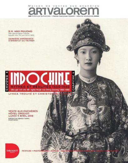 INDOCHINE : tableaux, photographies, affiches, souvenirs impériaux, bijoux, objets d'art, textiles, mobilier