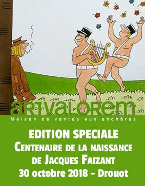 Jacques Faizant (1918-2006) Edition centenaire de sa naissance